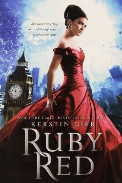 book cover Ruby Red by Kerstin Gier