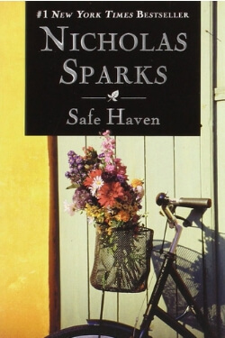 book cover Safe Haven by Nicholas Sparks