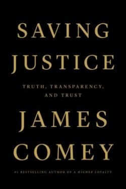 book cover Saving Justice by James Comey