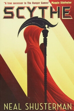 book cover Scythe by Neal Shusterman