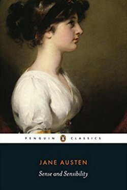 book cover Sense and Sensibility by Jane Austen