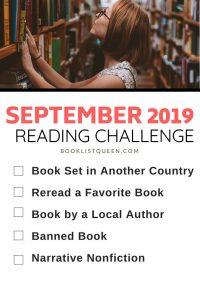 September 2019 Reading Challenge