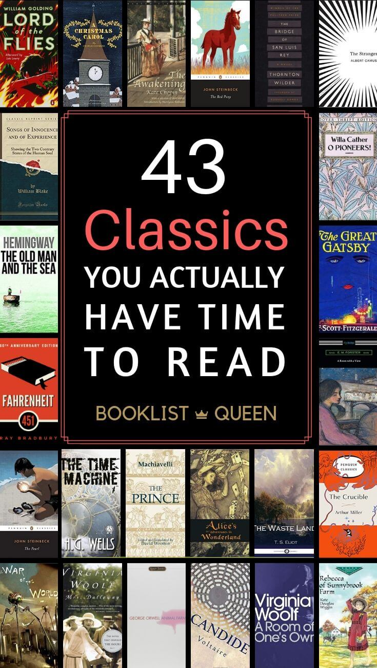 43 Short Classics You Actually Have time to read