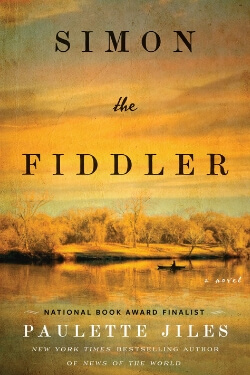 book cover Simon the Fiddler by Paulette Jiles