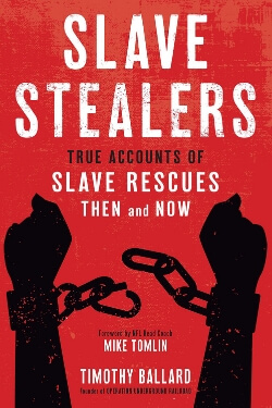 book cover Slave Stealers by Timothy Ballard
