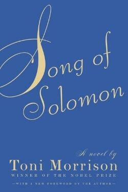 book cover Song of Solomon by Toni Morrison
