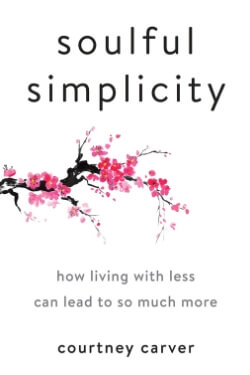 book cover Soulful Simplicity by Courtney Carver
