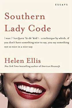 book cover Southern Lady Code by Helen Ellis