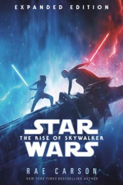 book cover Star Wars: The Rise of Skywalker by Rae Carson