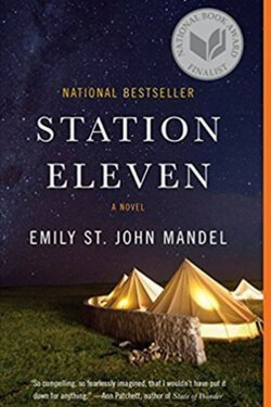 book cover Station Eleven by Emily St. John Mandel