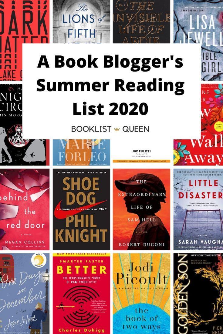My Summer Reading List 2020
