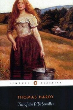 book cover Tess of the D'urbervilles by Thomas Hardy