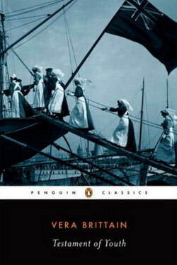 book cover Testament of Youth by Vera Brittain