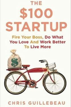 book cover The $100 Startup by Chris Guillebeau
