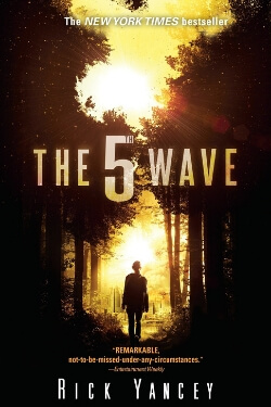 book cover The 5th Wave by Rick Yancey