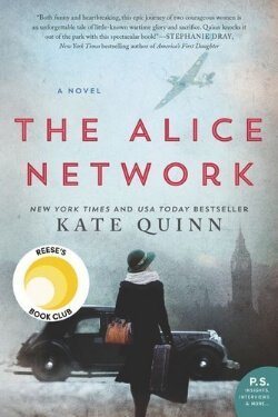 book cover The Alice Network by Kate Quinn