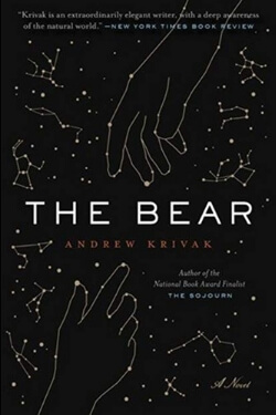 book cover The Bear by Andrew Krivak