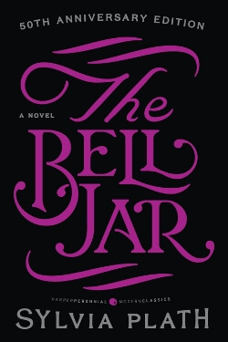 book cover The Bell Jar by Sylvia Plath
