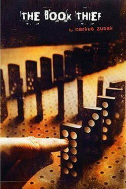 book cover The Book Thief by Markus Zusak