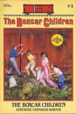 book cover The Boxcar Children by Gertrude Chandler Warner