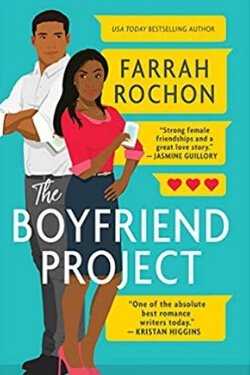book cover The Boyfriend Project by Farrah Rochon