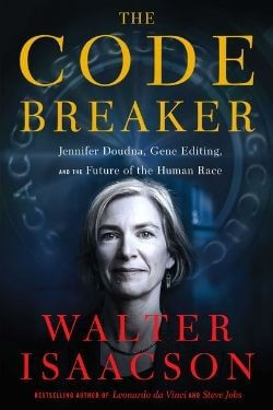 book cover The Code Breaker by Walter Issacson