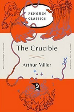 book cover The Crucible by Arthur Miller