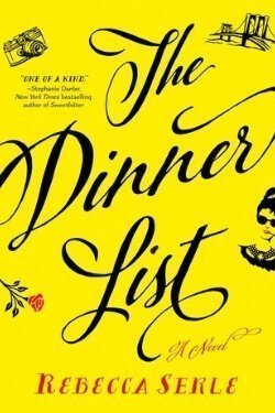 book cover The Dinner List by Rebecca Serle