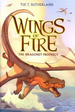 book cover The Dragonet Prophecy by Tui. T. Sutherland