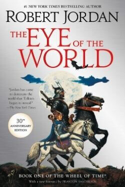 book cover The Eye of the World by Robert Jordan