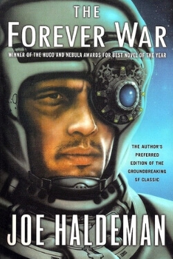 book cover The Forever War by Joe Haldeman