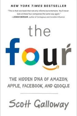 book cover The Four by Scott Galloway