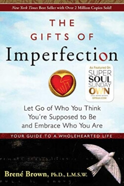 book cover The Gifts of Imperfection by Brene Brown
