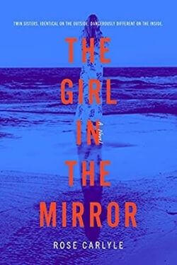 book cover The Girl in the Mirror by Rose Carlyle
