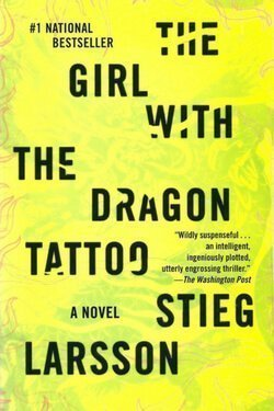 book cover The Girl with the Dragon Tattoo by Stieg Larsson
