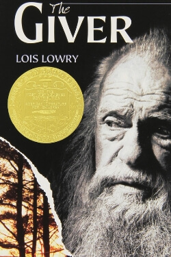 book cover The Giver by Lois Lowry
