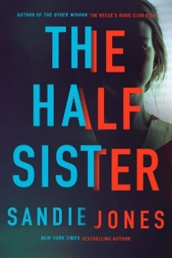 book cover The Half Sister by Sandie Jones