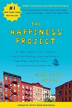 book cover The Happiness Project by Gretchen Rubin