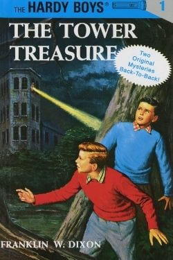 book cover The Tower Treasure by Franklin W Dixon (The Hardy Boys #1)