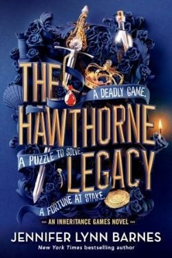 book cover The Hawthorne Legacy by Jennifer Lynn Barnes