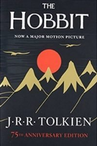 book cover The Hobbit by J. R. R. Tolkien