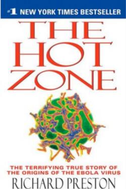 book cover The Hot Zone by Richard Preston