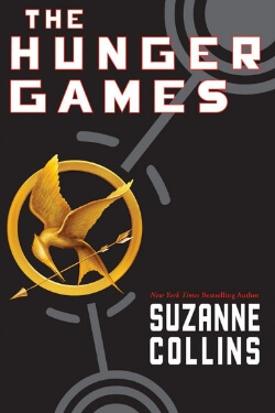 book cover The Hunger Games by Suzanne Collins