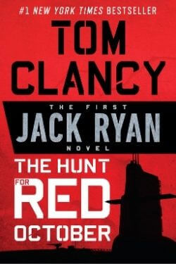 book cover The Hunt for Red October by Tom Clancy