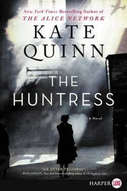 book cover The Huntress by Kate Quinn