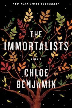 book cover The Immortalists by Chloe Benjamin