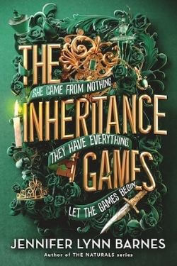 book cover The Inheritance Games by Jennifer Lynn Barnes