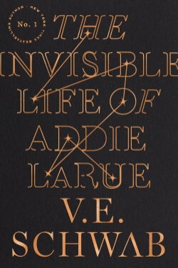 book cover The Invisible Life of Addie LaRue