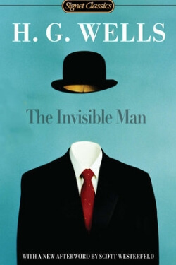 book cover The Invisible Man by H. G. Wells