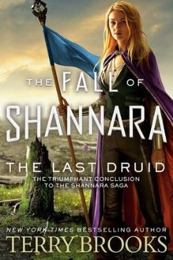 book cover The Last Druid by Terry Brooks